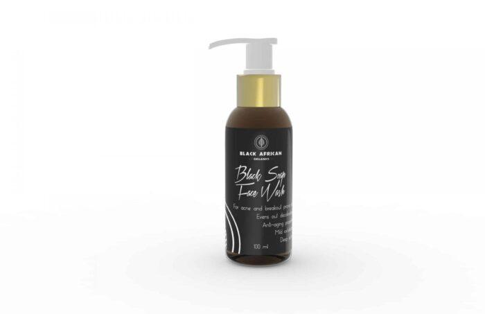 Black Soap Face Wash 100ml
